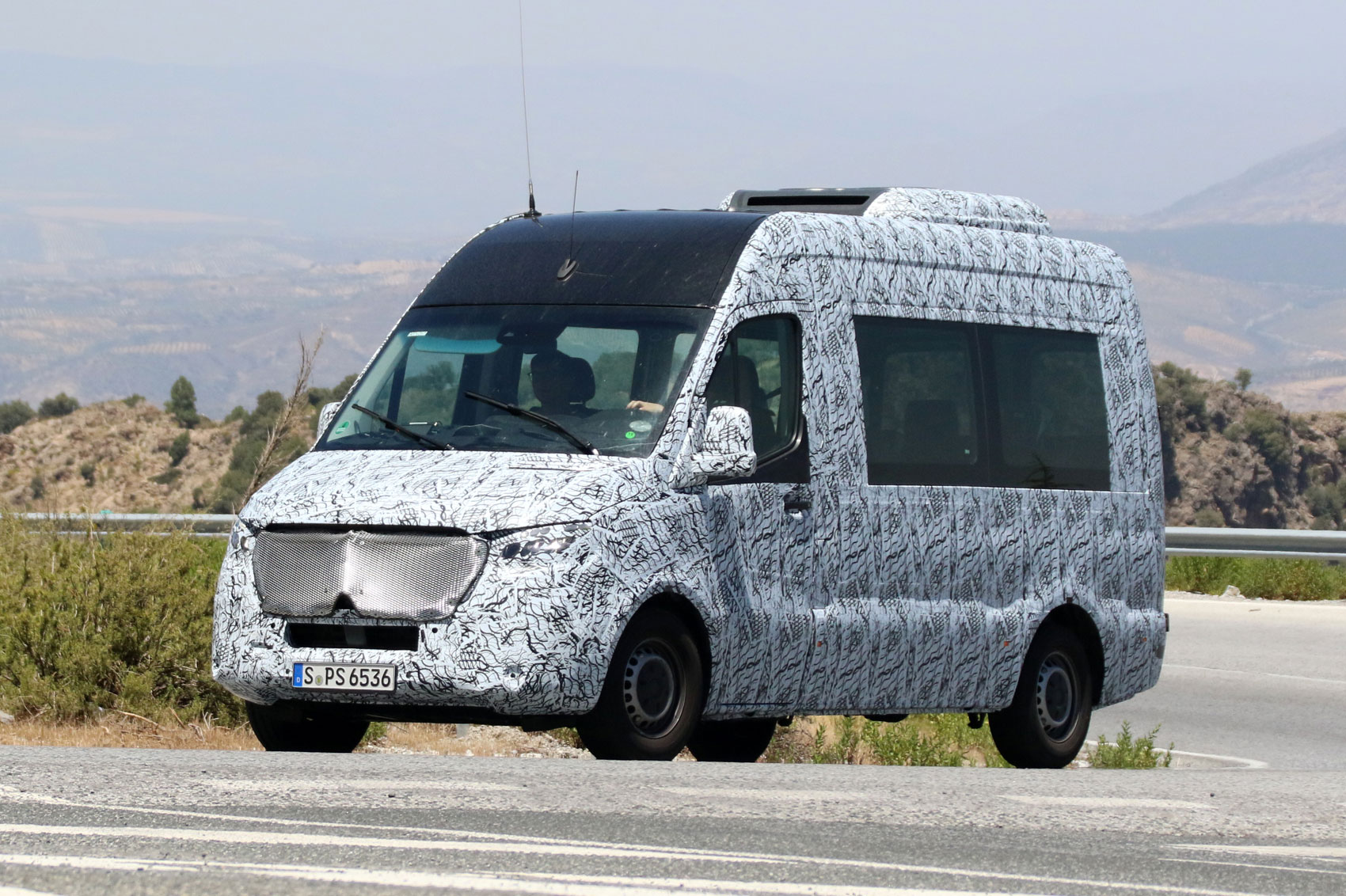 The minibuses based on the mercedes benz sprinter 2018 also gets to - The New Sprinter Isn T Set To Be Officially Unveiled In 2018 But Quite A Bit Of Information About The Latest Mercedes Large Van Is Already Leaking Out