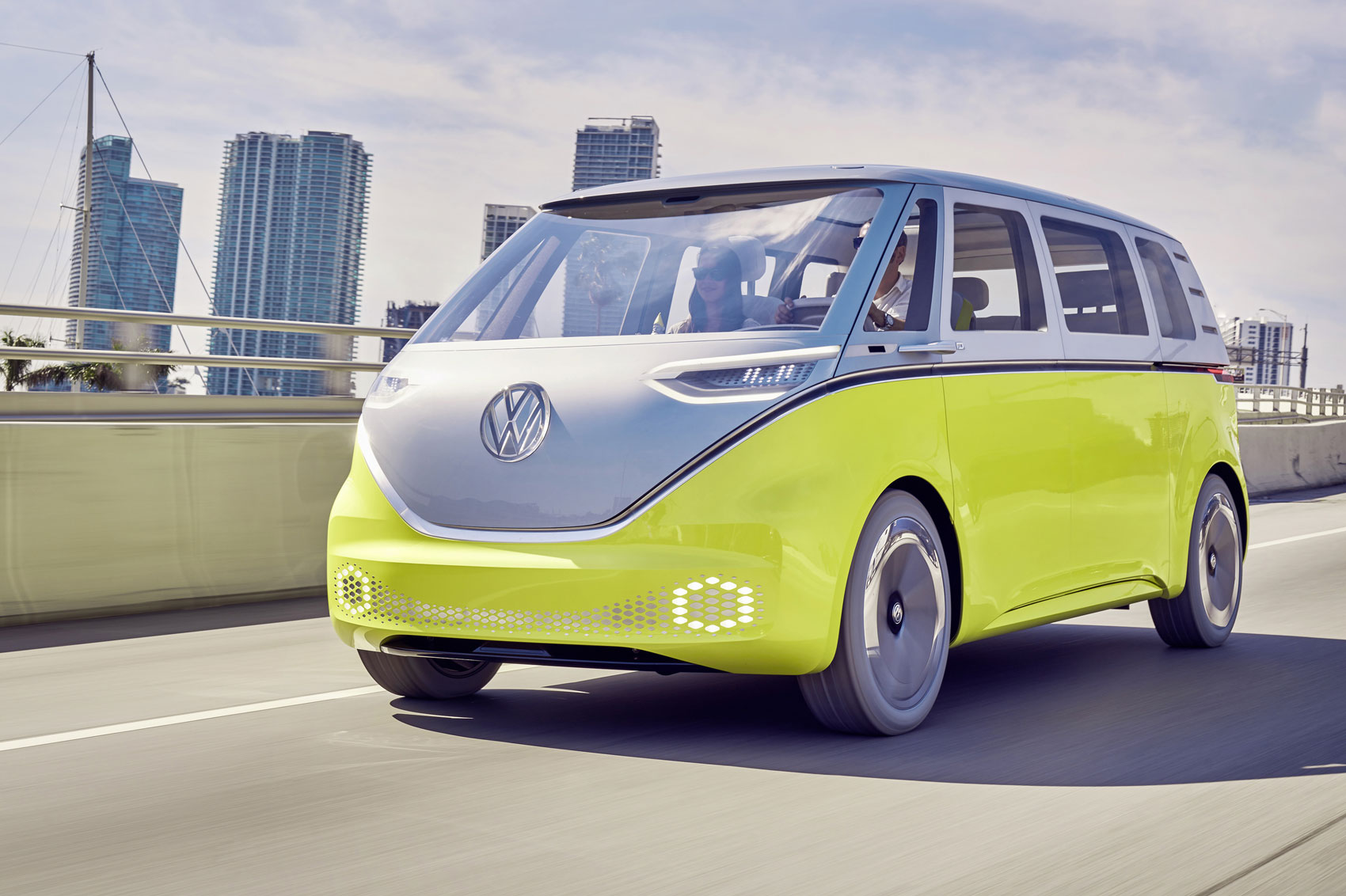 official  electric vw buzz cargo van confirmed  production parkers