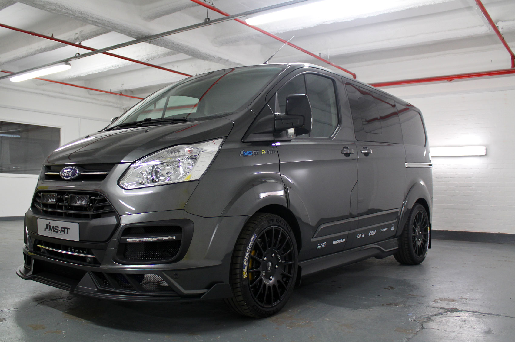 Ford Transit Custom MS RT R Spec Review A 208hp Van With
