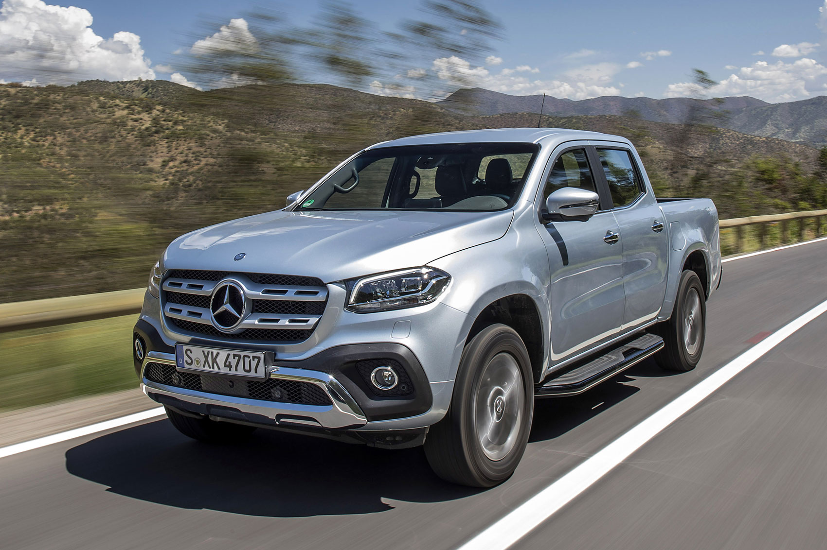 Mercedes x class launch pricing announced parkers for Mercedes benz x class price