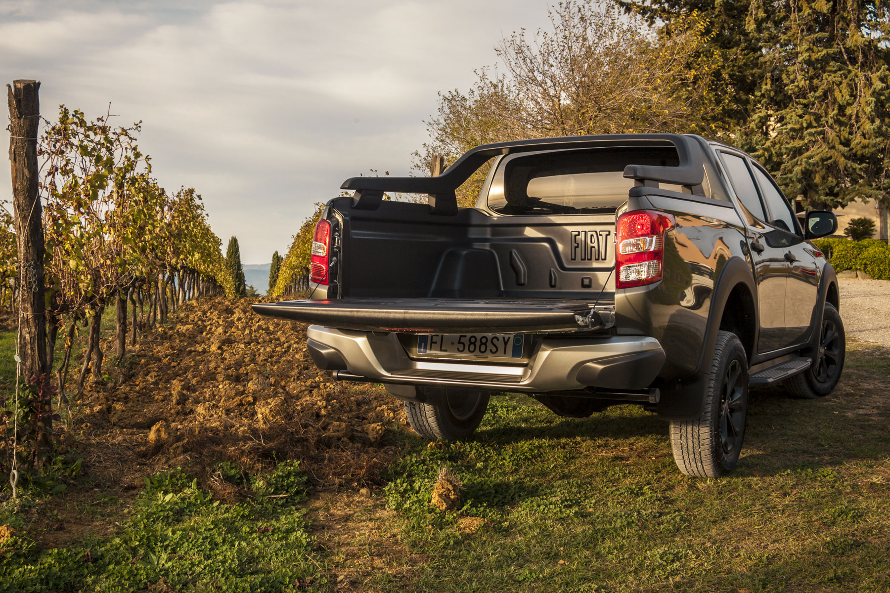 Fiat Fullback Cross review - load bed area