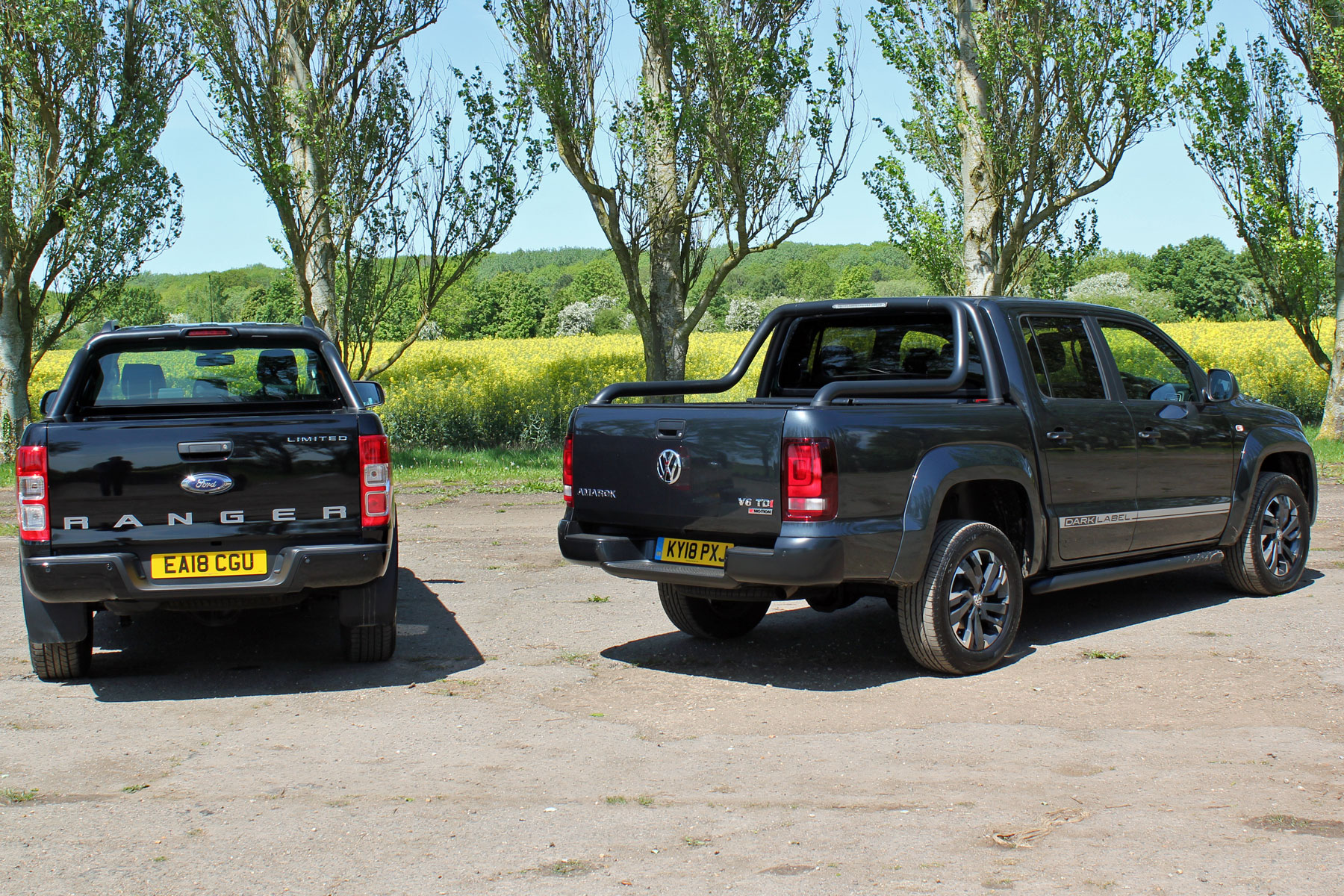 VW Amarok Dark Label review - compared to the Ford Ranger Black Edition
