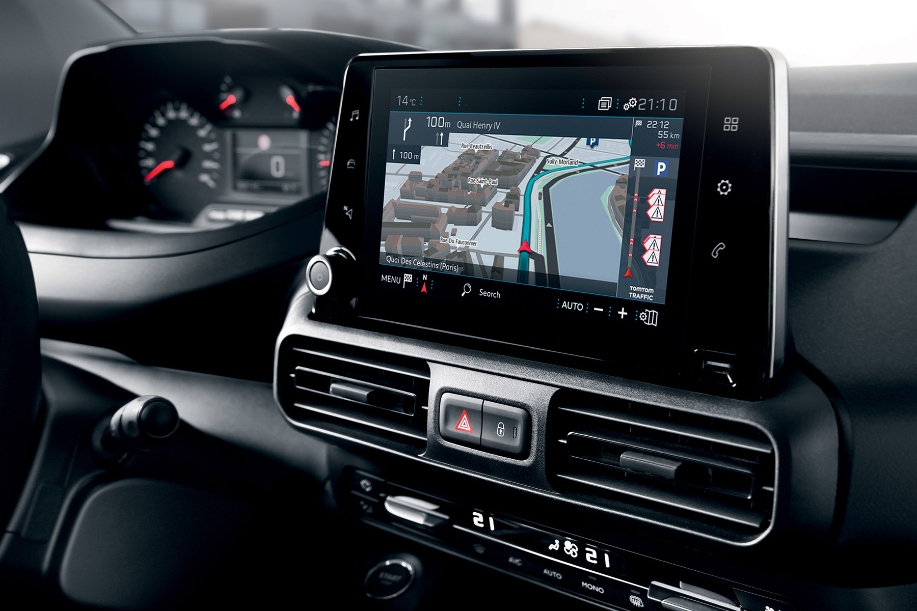 Peugeot Partner touchscreen