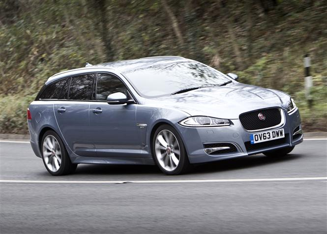 jaguar xf sportbrake v6 r sport 5d auto road test parkers. Black Bedroom Furniture Sets. Home Design Ideas