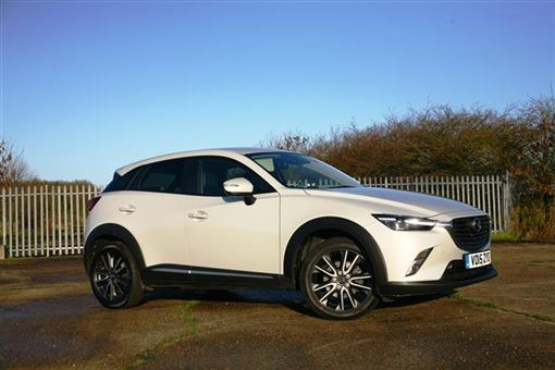 mazda cx 3 sport nav awd 5d auto road test parkers. Black Bedroom Furniture Sets. Home Design Ideas