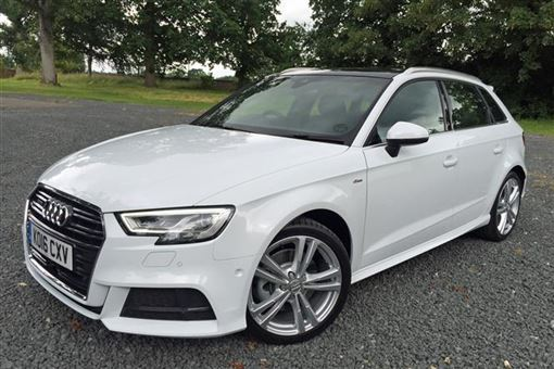 audi a3 sportback s line 2 0 tdi 150ps quattro 05 16 on 5d road test parkers. Black Bedroom Furniture Sets. Home Design Ideas
