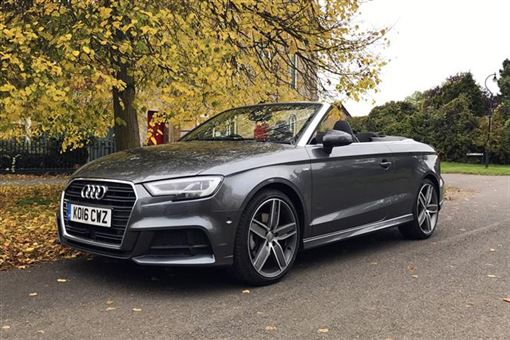 Audi A3 Cabriolet S Line 2 0 Tdi 150ps 05 16 On 2d Road