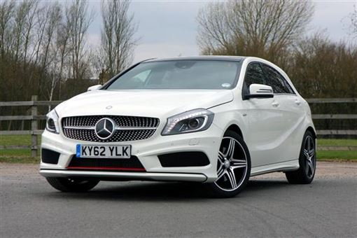 Mercedes benz a class a250 blueefficiency engineered by for Mercedes benz greenway staff