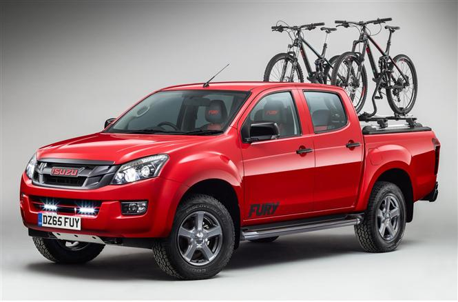Isuzu D-Max Fury unveiled for 2015 | Parkers