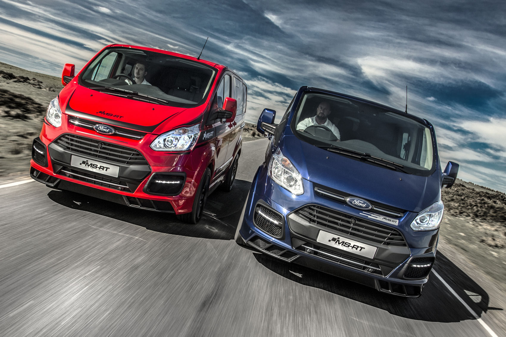 Ford Transit M Sport Vans And Ranger Pickup Renamed Ms Rt Parkers